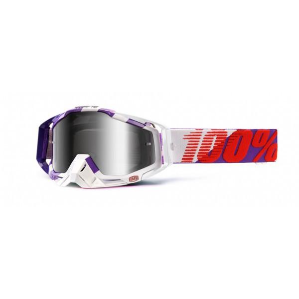 masque 100 racecraft purple main ecran miroir argent planet pocket topaz motorcycles. Black Bedroom Furniture Sets. Home Design Ideas