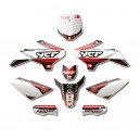 KIT DECO COMPLET N-STYLE ACCELERATOR ROUGE YCF 2013