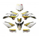 KIT DECO COMPLET N-STYLE ACCELERATOR JAUNE YCF 2013