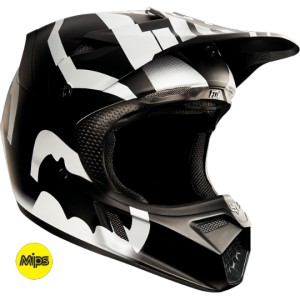 CASQUE FOX RACING V3 SAVANT NOIR