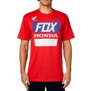 TEE SHIRT FOX RACING WITH A WIN NOIR