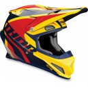 CASQUE THOR SECTOR RICOCHET BLEU/ORANGE 2017
