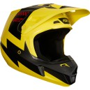 CASQUE FOX RACING V2 PREME JAUNE 2018